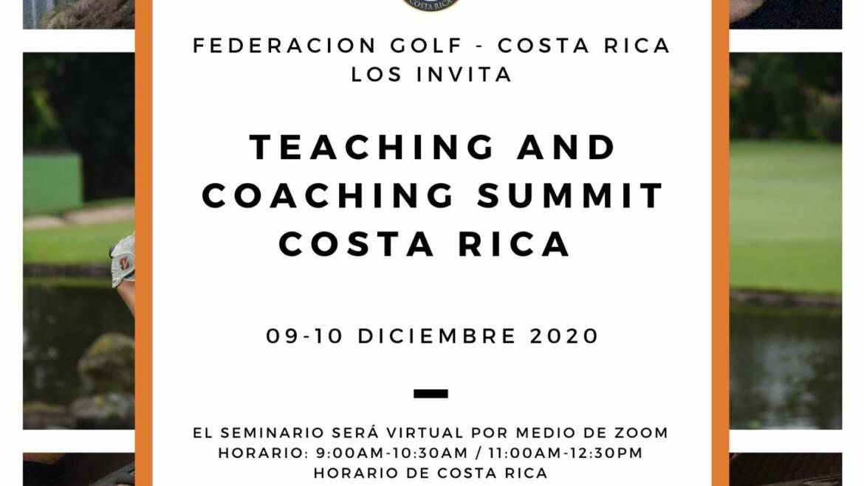 TEACHING AND COACHING SUMMIT COSTA RICA 2020