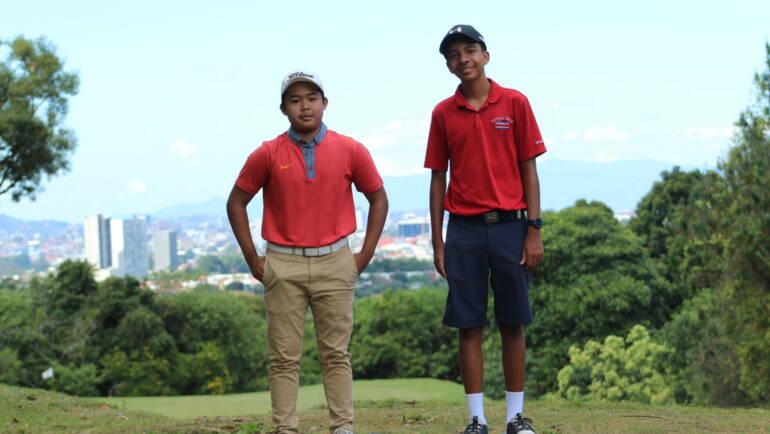 Allan Fan y Juan Pablo Alvarado