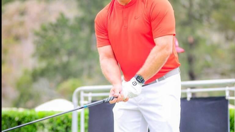 """Sergio Serrano: """"empecé en el golf por vacilón"""""""
