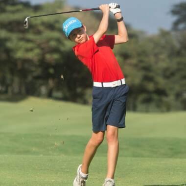 Gallese un golfista por herencia