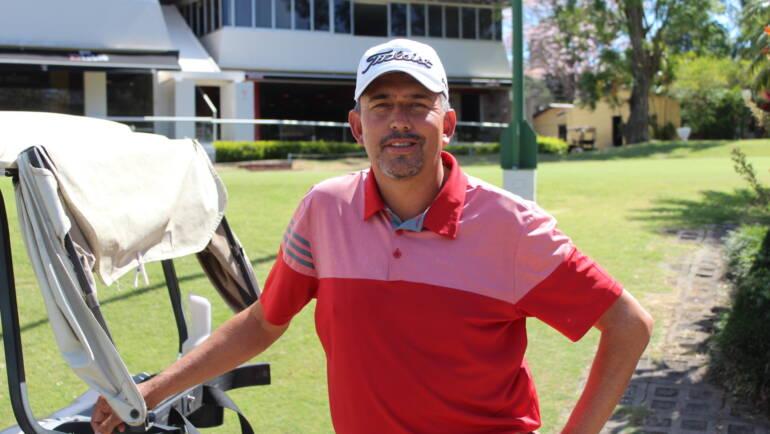 Marín encontró en el golf, la mejor manera de alejarse de los vicios